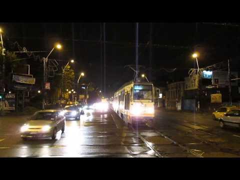 Tramvaiul V3A-93 M FAUR #114 la Trafic Greu pe linia 32