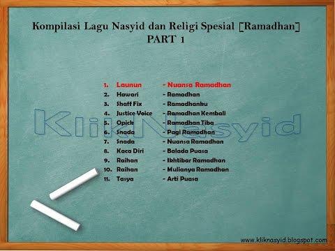 Kompilasi Lagu Nasyid Spesial Ramadhan Part 1
