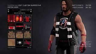 WWE 2K17: كيفية جعل AJ Styles الولايات المتحدة بطل الملابس 2017