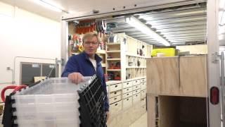 Building A Mobile Woodshop (part 30) Yep! A Coat Closet For My Carpenter's Pants