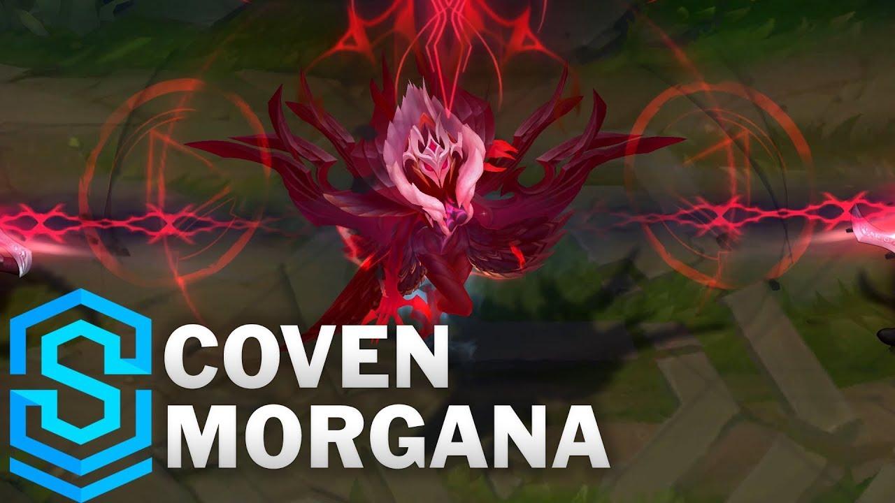 Coven Morgana Skin Spotlight - Pre-Release - League of Legends