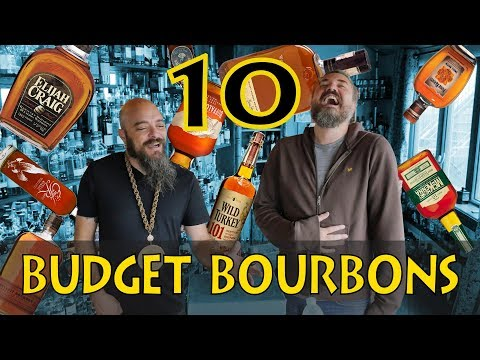 Top 10 Budget-ish Bourbons (according to whiskey lovers)