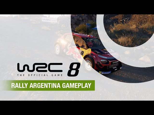 WRC 8 | Rally Argentina Gameplay (Beta version)
