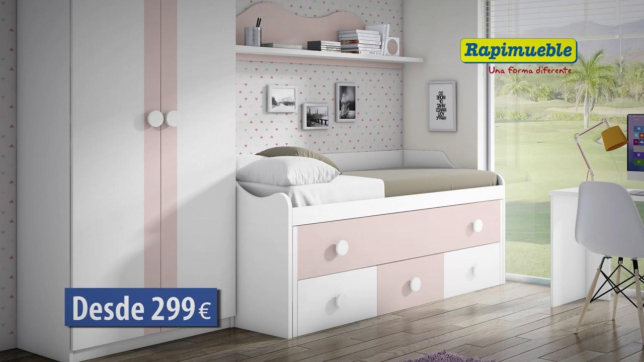 Spot rapimueble dormitorios juveniles mayo youtube - Rapimueble dormitorios ...