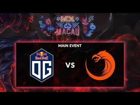 GRAND FINAL: OG [Europe] vs TNC (Philippines) (BO3) @ MDL Macau Final Day [Dota 2 Live Indonesia]
