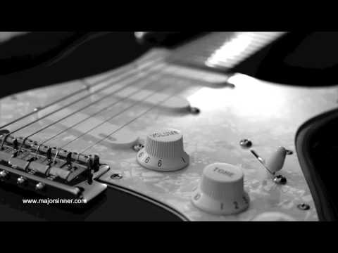 Major Sinner Slow Em Blues Guitar Backing Track