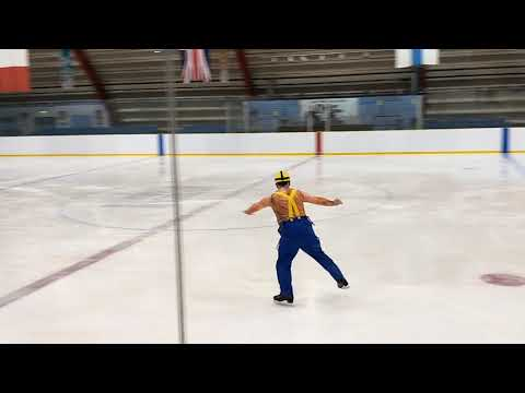 Peter Hambleton Full Monty on Ice