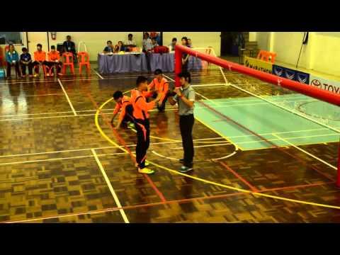 แข่งขันโกลบอล (Goalball) ทีมชาย นนทบุรี vs ลพบุรี กีฬาคนพิการ ปากน้ำโพเกมส์ 34  1/2