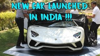 Lamborghini Aventador S Launch in India | Insane Revs | #122