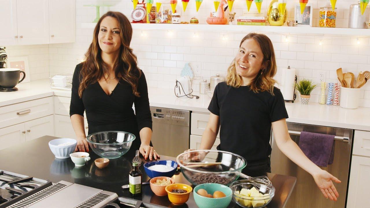 Rachel Feinstein Helps Make Insanely Easy CBD Brownies   Marie Claire