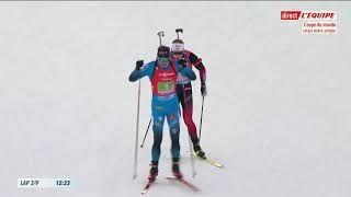 Biathlon 2021 Oberhof relais mixte simple