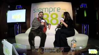 Mijares en entrevista con Sofía Sánchez para Siempre 88 9 parte 1