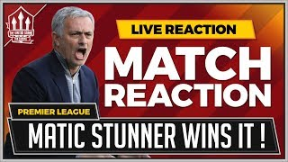 Crystal Palace 2-3 Manchester United | MATIC GOAL WINS IT!!!!