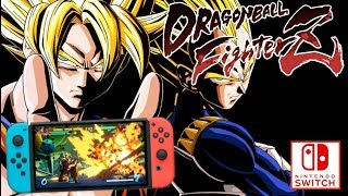 DRAGON BALL FIGHTER Z SWITCH ! DÉCOUVERTE GAMEPLAY FR, MODES, COMBATS & PERSONNAGES !