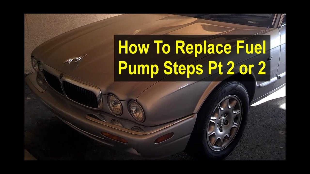 hight resolution of how to replace the fuel pump filter on a jaguar xj8 step by step etc pt 2 of 2 remix