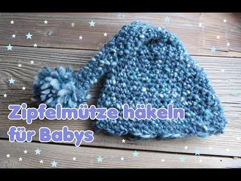 Mütze Für Babys Häkeln