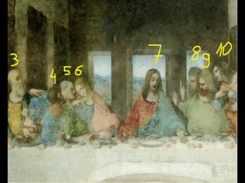 Another Secret Revealed !!! (Last Supper, Leonardo Da ... Da Vinci Paintings Secrets
