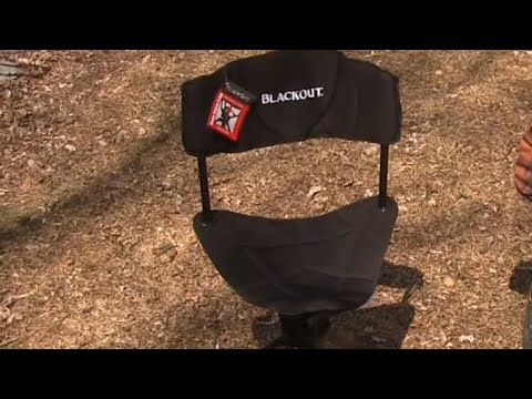 Redhead Blackout Ground Blind Chair Review Youtube