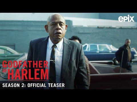 Godfather of Harlem Season 2 (EPIX 2021 Series)- Official Teaser