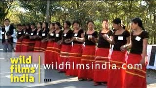 Download Hindi Video Songs - Adi tribal dance from Arunachal Pradesh