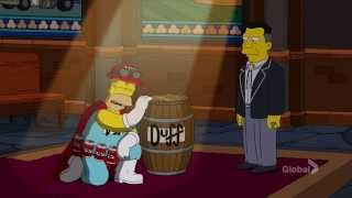 Homer as Duffman S26E17