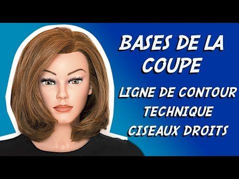 BASES DE LA COUPE #3 ✂ APPRENDRE A COUPER LES CHEVEUX ✂ INITIATION COIFFURE