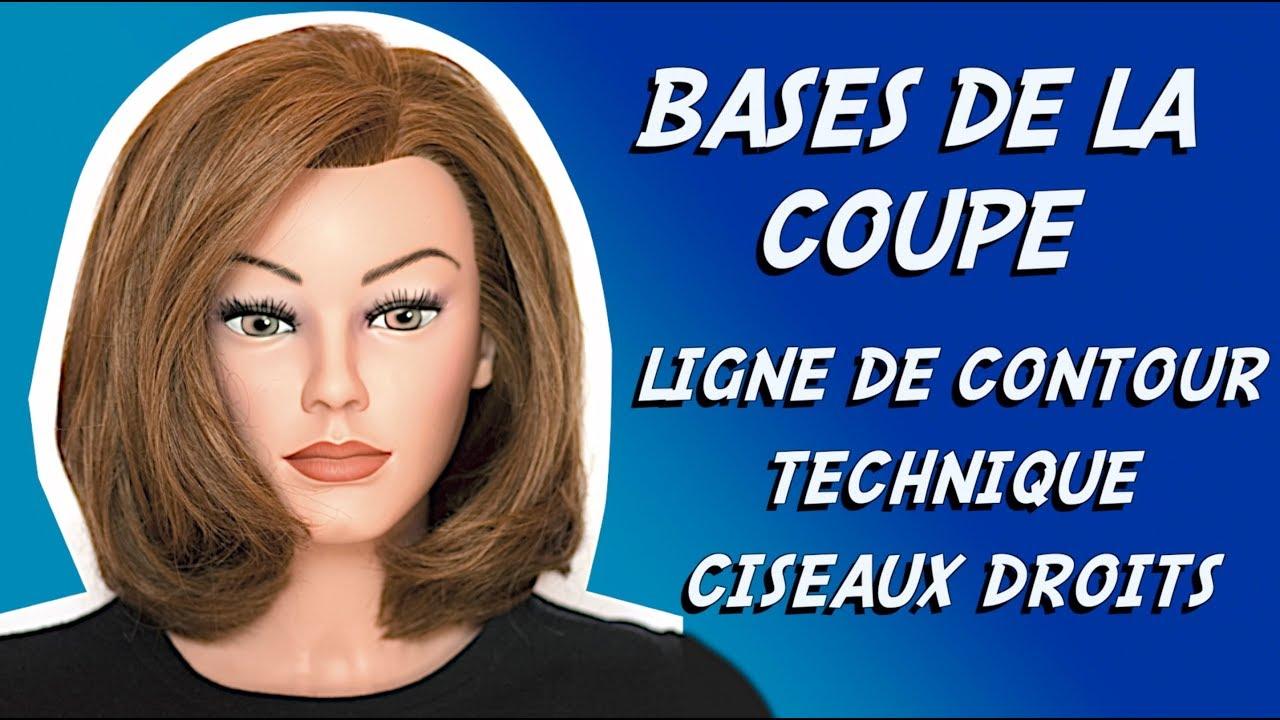 bases de la coupe 3 apprendre a couper les cheveux initiation coiffure youtube. Black Bedroom Furniture Sets. Home Design Ideas