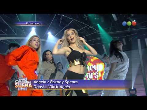 Angela Torres es Britney Spears, Oops!...I Did it Again - Tu Cara Me Suena 2014
