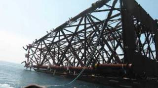 Offshore Platform Construction: Part 1, Jacket Leg Launching