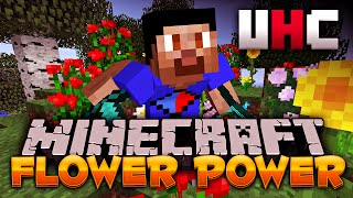 Minecraft *EPIC* FLOWER POWER UHC #1 with Vikkstar (Minecraft UHC)
