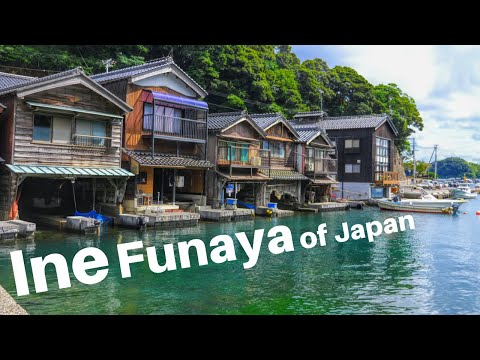 Absolutely Beautiful Funaya Boat Houses Of The Ine Fishing Village In Japan (伊根)