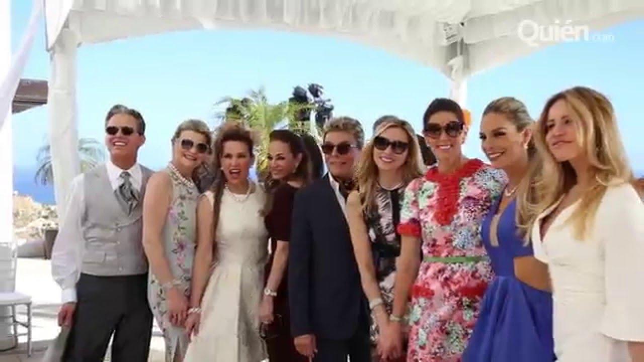 En exclusiva la rom ntica boda civil de b rbara coppel y for Boda en jardin como vestir