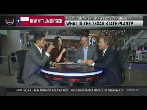 Texas A&M Coach Jimbo Fisher Joins College Football Live