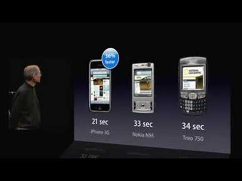 WWDC San Francisco 2008-iPhone 3G Introduction (Pt. 1)