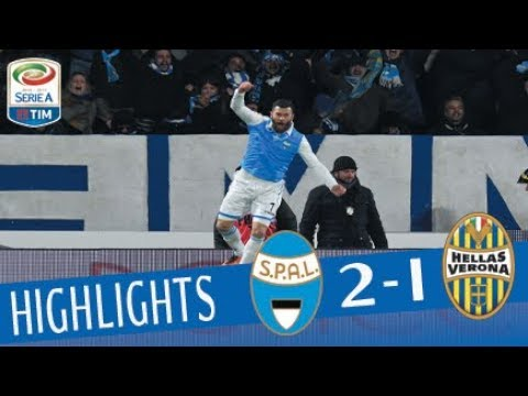 Spal - Verona 2 - 2 - Highlights - Giornata 16 - Serie A TIM 2017/18