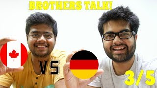 STUDENT JOBS in Canada vs Germany (3/5): Brothers share Personal Experiences