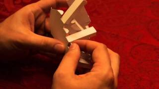 Lone Tree Games - Glueless Papercraft Double Staircase Assembly