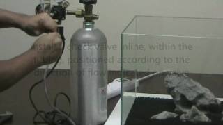 How to Setup a Planted Aquarium Pressurized CO2 System thumbnail