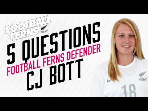 Five Questions with Football Ferns defender CJ Bott