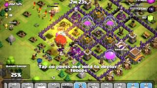 Clash of Clans - Heavy Elixir Loss Battle - #1