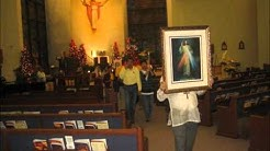 2013 Feast of The Black Nazarene at Blessed Trinity Catholic Church