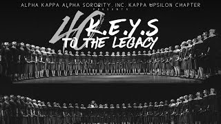 "Alpha Kappa Alpha Sorority, Inc. Kappa Upsilon Chapter presents ""40 K.E.Y.S to the Legacy"""