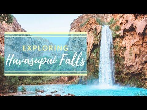 Exploring Havasupai Falls   Travel Video