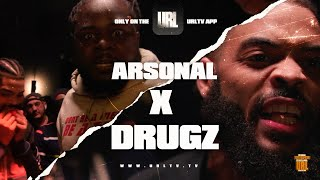 ARSONAL VS  DRUGZ TRAILER | URLTV