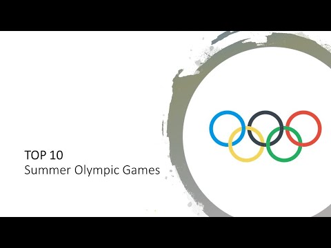TOP 10 Summer Olympic Games Medal (1896-2016)