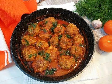 Тефтели в томатном соусе! / Простые рецепты
