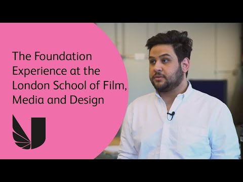 The Foundation Experience at the London School of Film, Media and Design