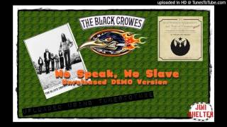 The Black Crowes - No Speak, No Slave