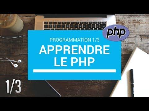 PHP LES BASES - 1/3 TUTORIEL PHP DEBUTANT