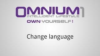 Omnium1 - Change language